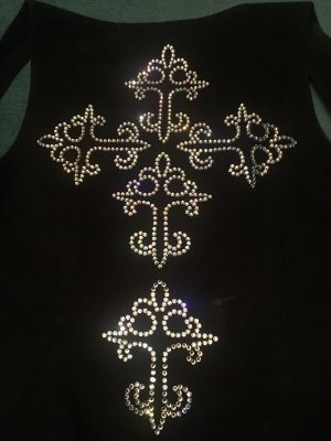 Amor & Psyche Leather Vest black