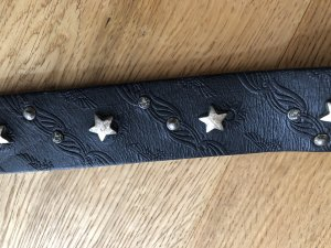 B Belt Leather Belt black