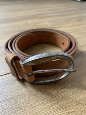 Vanzetti Leather Belt multicolored leather