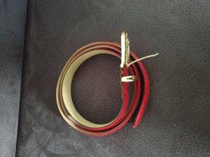 Weinmann Leather Belt red