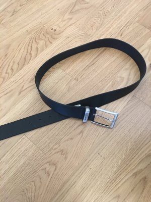 s.Oliver Leather Belt black-silver-colored