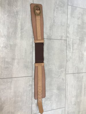 Pieces Cinturón de cadera marrón claro Cuero