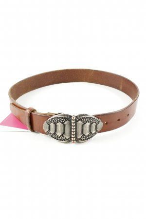 Leather Belt brown medieval style