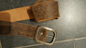 Ledergürtel, braun, Vintage
