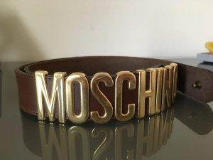 Ledergürtel braun von Moschino