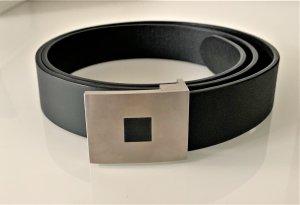 Cinturón de cuero negro Cuero