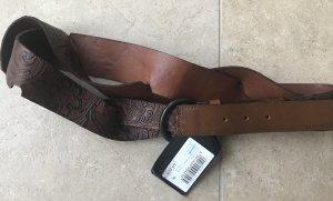 Hugo Boss Cinturón pélvico marrón-marrón oscuro
