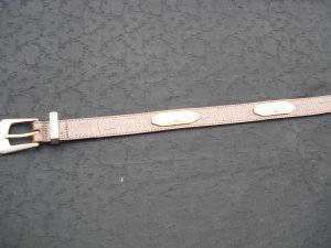 Waist Belt brown leather
