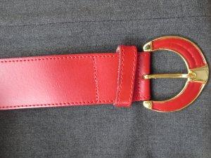 Ledergürtel in rot