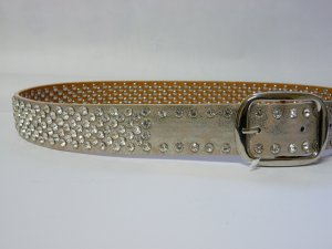 Studded Belt gold-colored-silver-colored