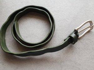 Ledergürtel Liebeskind tannengrün 90cm