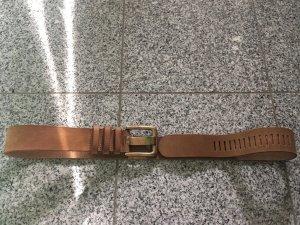 Noa Noa Leather Belt cognac-coloured-brown