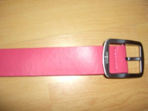 Mexx Waist Belt pink leather