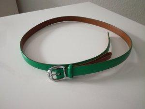 Polo Ralph Lauren Lederen riem groen Leer