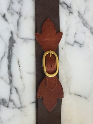 Pieces Leather Belt multicolored leather