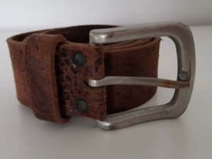 Vanzetti Leather Belt dark brown