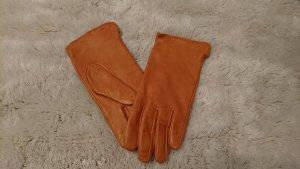 Handschoenen cognac-camel