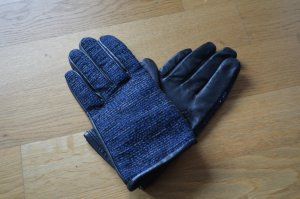 French Connection Gants en cuir multicolore cuir