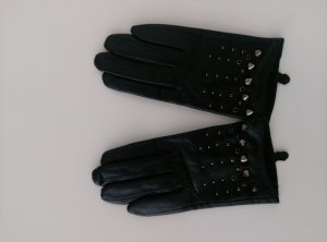 Lederhandschuhe mit Metalelemente