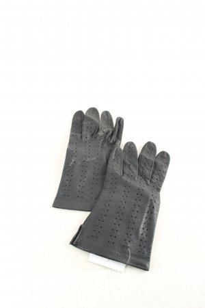 Leather Gloves black urban style