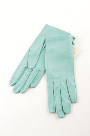 Lederhandschuhe türkis 50ies-Stil