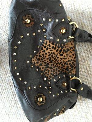 Lederhandtasche in braun