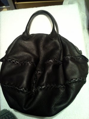 Bottega Veneta Carry Bag black leather