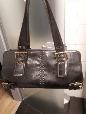 Lederhandtasche schwarz von David jones