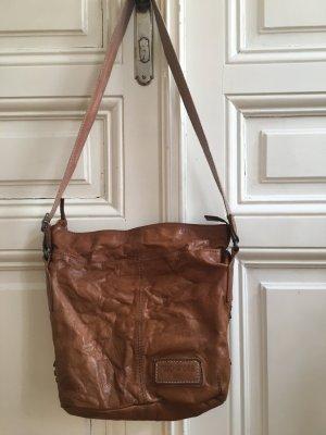 Taschendieb Bolso marrón-rosa