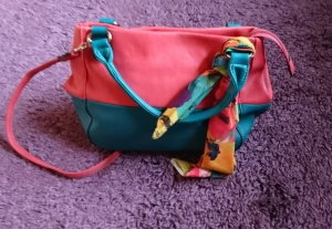 David Jones Carry Bag bright red leather