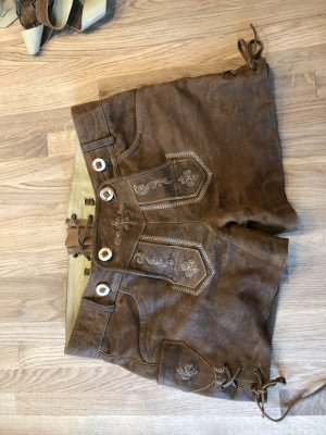 MarJo Pantalon bavarois brun cuir