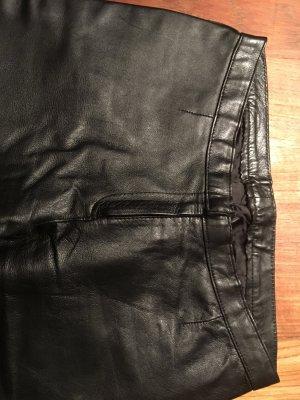 Lederhose 32-34, schwarz, Vintage