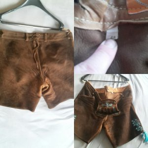 & other stories Leather Trousers brown