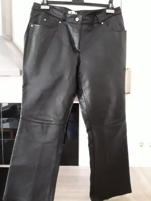 Collection Chalice Leather Trousers black
