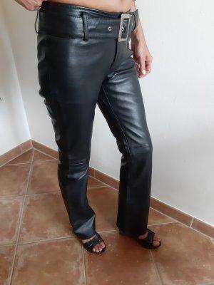 Mia Pantalone in pelle nero