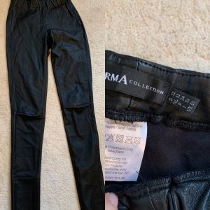 Arma Collection Leather Trousers black