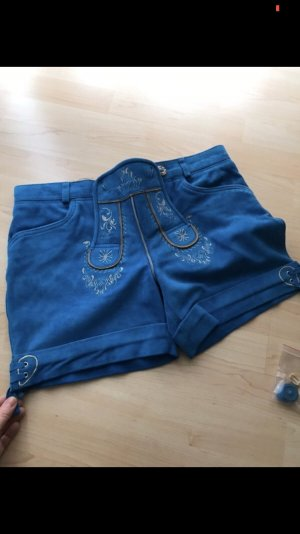 Pantalone in pelle multicolore