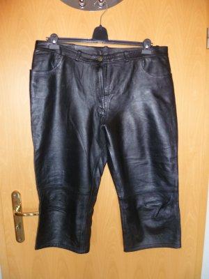 Pantalón pirata negro Cuero