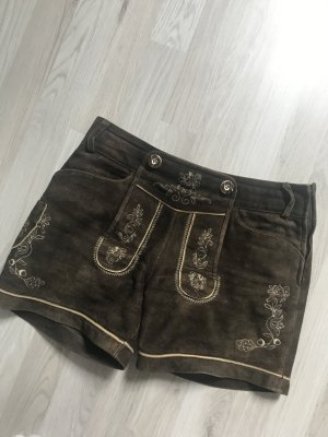 Traditional Leather Trousers multicolored leather