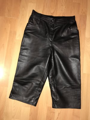 Alba Moda Leather Trousers black