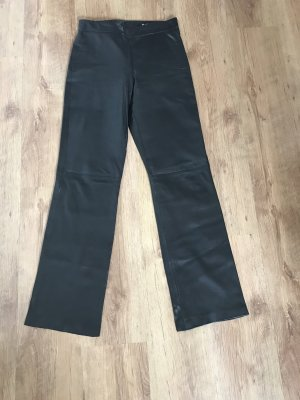 Mauritius Leather Trousers black