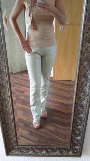 Lederhose Esprit beige