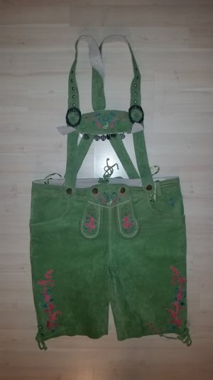 Lederhose Farbe grün