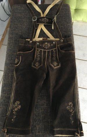 Lederhose für Herren von Country Line, Größe 52