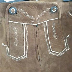Pantalone tradizionale marrone Pelle