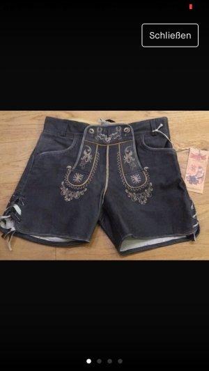 Lederhose Hotpants neu von Stockerpoint
