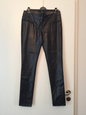 Lederhose Imitat schwarz 40