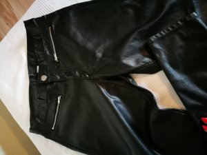 Lederhose Imitat schwarz
