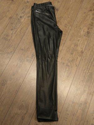 Lederhose in schwarz