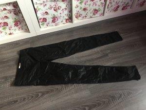 Lederhose Leder leggings jeggings neu schwarz